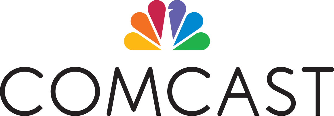 Corporate logo for Comcast