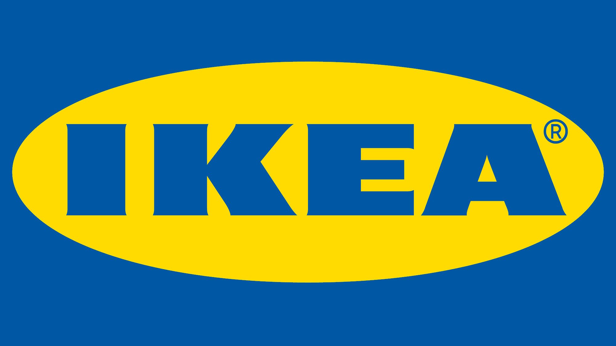 Corporate logo for IKEA